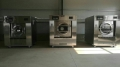 鞍山转让二手50公斤海狮航星水洗机,二手双滚电加热