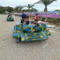體會金戈鐵馬來玩游樂坦克車