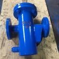 藍式U型過濾器 管道U型過濾器 法蘭U型過濾器 焊
