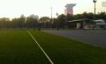 足球場5cm高雙色草坪安裝錢一平方