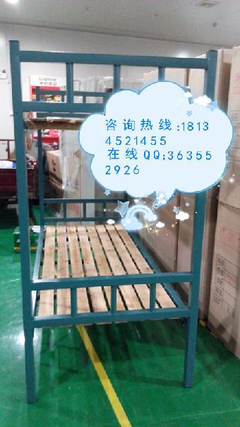 合肥学生宿舍床 可定做双层工艺床 铁架木板床包安装