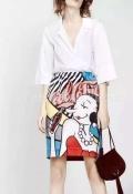 北京精品品牌采用進口面料卡利亞里品牌女裝供應批發商