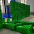 伊春户外环保分类垃圾桶塑料带轮带盖益恒批发生产
