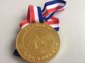 彩带奖牌定制 活动比赛奖牌定制 老年人马拉松比赛奖