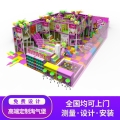 延安中青游樂設備淘氣堡糖果系列游樂場經久耐用