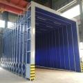鍍鋅管材質伸縮噴漆房 運行平穩 操作簡單