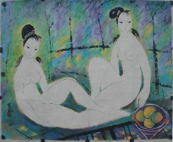 林风眠油画作品拍卖成交记录
