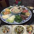 生產陶瓷海鮮大盤 酒店裝飾裝菜大盤 1.2米圓盤定