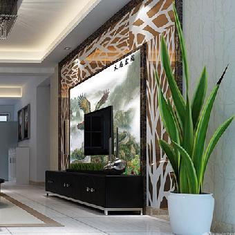 供应华玉堂瓷砖背景墙806g大展宏图电视客厅背景墙