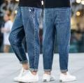 品牌春夏男女尾货牛仔裤清仓韩版童装中大童牛仔裤便宜
