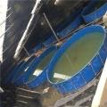 新型圓形大棚養殖水池
