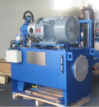 制造升降货梯液压泵站系统图片
