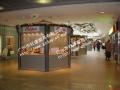 英西峰林走廊光孝寺景區定制歐式款木屋售貨亭設計