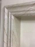 湖南包電梯套口石塑線條安裝方法