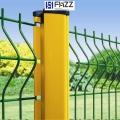 富華新型景區公園PVC浸塑鍍鋅電焊網圍欄