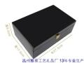 貼黑木皮蟲草木盒訂做生產13年工廠