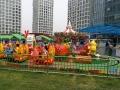 寧夏廠家直銷香蕉火車 歡樂打地鼠 軌道旋轉游樂設備