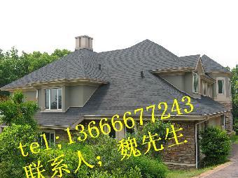 玻纤沥青瓦吸收了古典欧式瓦的风格和特色,适用于混凝土及木屋结构的