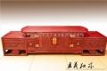 新中式紅木電視柜家具百福圖款式