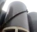 金華萬噸級鋼板倉建設 高架鋼板庫材料選擇知識