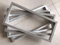 大連葫蘆島絲印鋁合金網框 平網機鋁框廠家