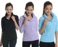 白云長袖T恤衫定制,人和工廠T恤衫定做,T恤衫印字