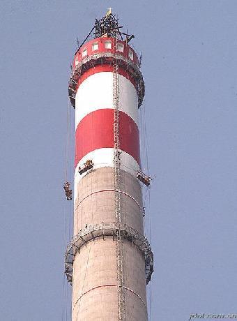 移动通信发射塔安装,联通信号