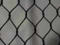 鋼絲繩編織圍欄網,不銹鋼編織絲繩網,不銹鋼鳥網