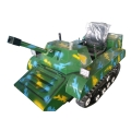 兒童雪地坦克 冰雪樂園游樂設備 冰雪陸三用坦克車