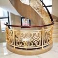 深圳雕花別墅樓梯護欄 漸漸步入富豪們的視眼