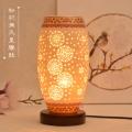 現代中式家用臥室調光床頭燈燈具 陶瓷燈具定制