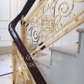 铝艺雕刻楼梯护栏生产厂家