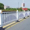 山西运城道路护栏车道隔离护栏城市道路护栏莲花式护栏