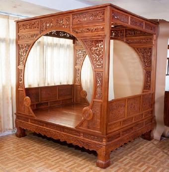 哪里可以鉴定红木架子床?