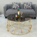 玫瑰金创意不锈钢茶几架,酒店不锈钢桌子
