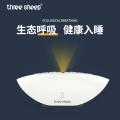 跨境新品白噪聲音樂助眠機呼吸燈減壓睡眠器