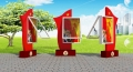 揚中時尚廣告燈箱 宣傳欄 捷信標牌 精神堡壘