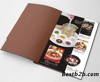 提供中西式餐牌菜谱