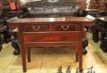 中式手工紅木翹頭案家具