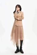 時尚 優雅大氣西裝套裝風衣知名女裝品牌 MILI