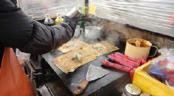 烤冷面小吃车 特色烤冷面利润 烤冷面加盟需要