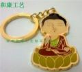 上海帶企業logo鑰匙扣定制廠家