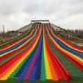 玩彩虹滑道的注意事項廠家提供