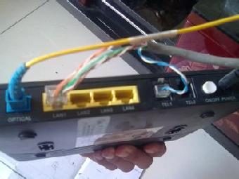 光纤网线接头接法图解
