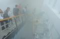 學校火災消防演習專用煙霧發生器學生開學安全教育宣傳