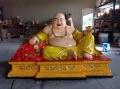 弥勒菩萨 笑佛 弥勒佛像树脂玻璃钢佛像神像厂家