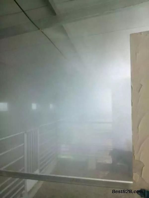 圈内全场消毒设备 水雾状喷雾消毒设备