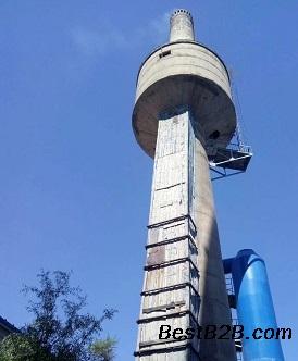 延安一座砖混烟囱人工拆除公司施工方案