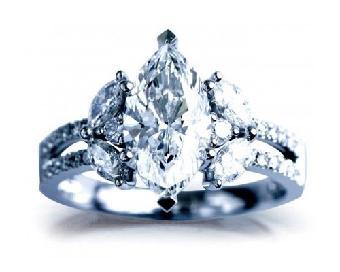vg对称gia证书马眼形钻石51000元&nsp杭州尊慧携手澳门