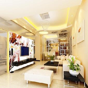 供应华玉堂瓷砖背景墙1303家和富贵电视瓷砖背景墙